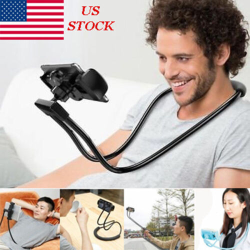 Lazy Hanging Neck Phone Holder Stand Bracket Holder For iPho
