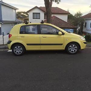 2005 Hyundai Getz Hatchback Manly Vale Manly Area Preview