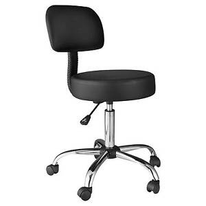 Super Onespace Medical Stool With Back Cushion Black Stools Office Furniture Business Ncnpc Chair Design For Home Ncnpcorg