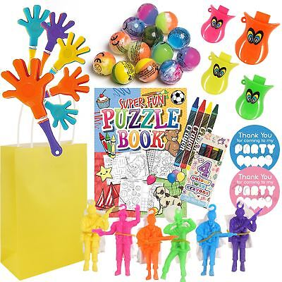 Boys Pre Filled Activity Packs Party Goody Bags Favors Gifts