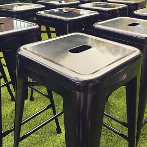 High metal bar stools for hire Woodvale Joondalup Area Preview