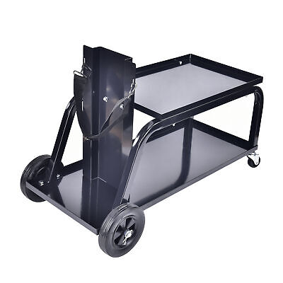 Aain Heavy Duty Rolling Mig Welding Cart Tig Welder Trolley Cutter Bench Storage