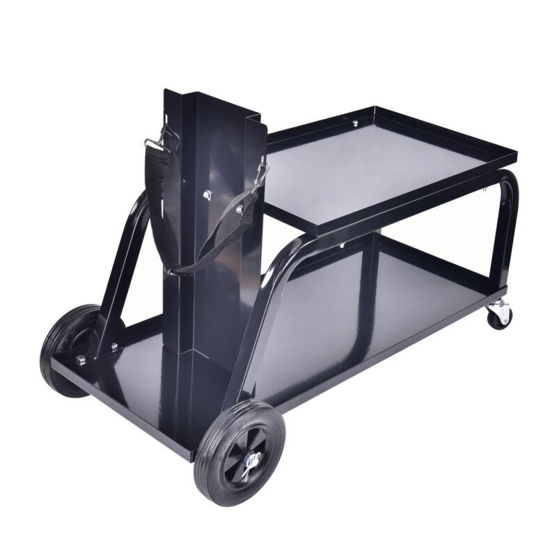 AAIN Heavy Duty Rolling MIG Welding Cart TIG Welder Trolley Cutter Bench Storage