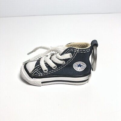 Navy Blue Converse All Star Chuck Taylor Sneaker Shoe Keychain Key Ring