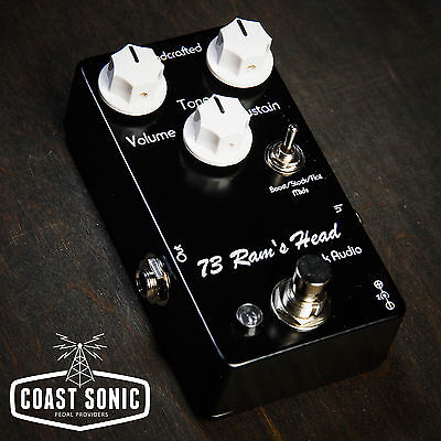 Vick Audio '73 Ram's Head Fuzz Effects Pedal Made in USA, used for sale  Shipping to Nigeria
