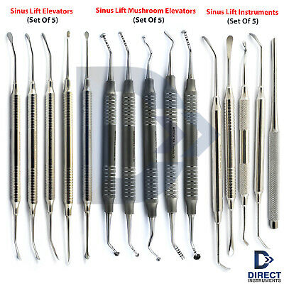 Dental Sinus Lift Instrument Kit Lifting Membrane Elevator Mushroom Implantology