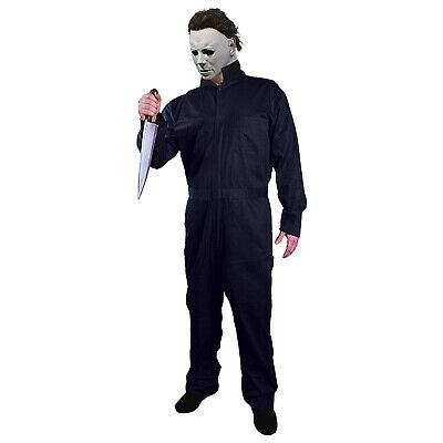 Michael Myers Coveralls Adult Halloween 2018 Adult Mens Killer Horror Costume - Michael's Halloween Costumes