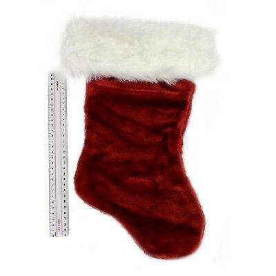 Red And White Christmas Stocking (Medium 19