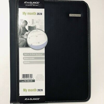 At-a-glance Padfolio Monthly Planner Notebook Holder - Refillable 9.5x12