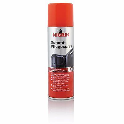 NIGRIN Gummipflege Spray 300 ml - 74056 - Tür Dichtungen Pflege Auto PKW Kfz