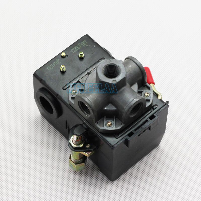 Pressure Switch Control Valve Air Compressor 135-175PSI 4 PORT HEAVY DUTY 26 AMP
