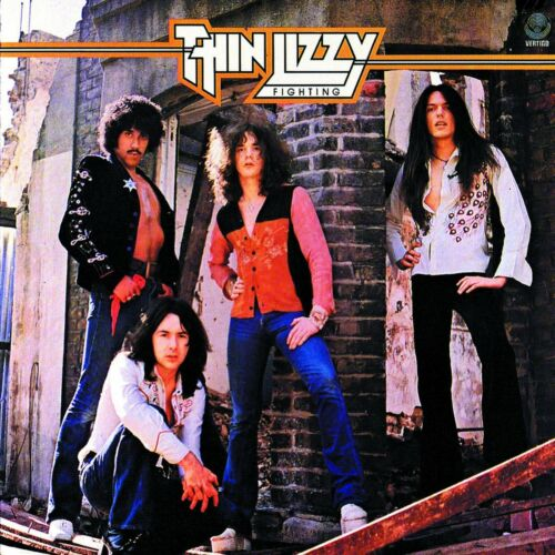 THIN LIZZY Fighting BANNER HUGE 4X4 Ft Fabric Poster Tapestry Flag album cover