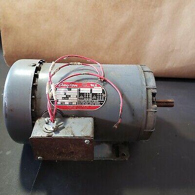 Dayton 3n018f 1-12hp 1725rpm 208-220440v 3-phase Electric Motor