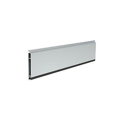 Aluminium Endleiste für Rolladen mit Gummidichtung für Mini Profile 10,00€/m