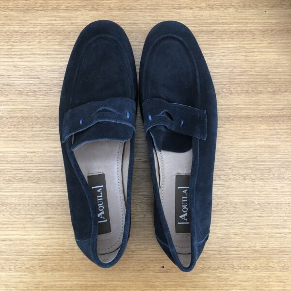 cb897efd21b Aquila Men s Navy suede Loafers size 43