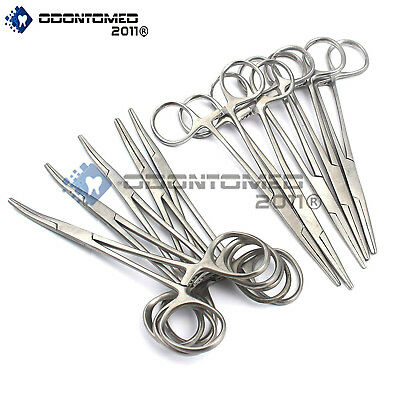 Odm 10 Asrtd Kelly Locking Hemostat Forceps 5.5 Surgical