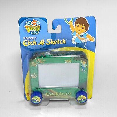 Go Diego Go! Nick Jr The Ohio Art Company Pocket Etch A Sketch 2006 Drawing Toy