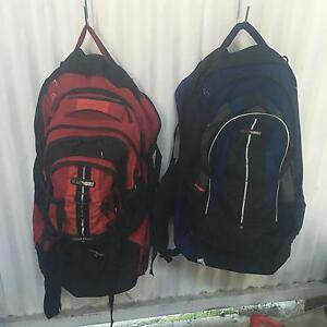 Black wolf 75 ltr back packs Bunbury Bunbury Area Preview