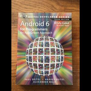 Android 6 for programmers  app driven approach