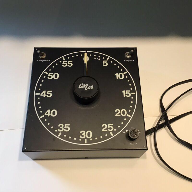 GraLab Darkroom Timer Model 300 Glow in the Dark Numerals - Working - IGC