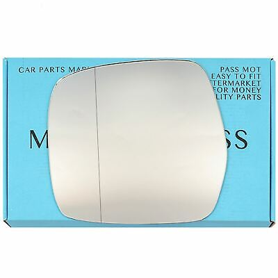 Right Side Covex Wing Mirror Glass For Toyota Landcruiser Amazon Fits to reg 199