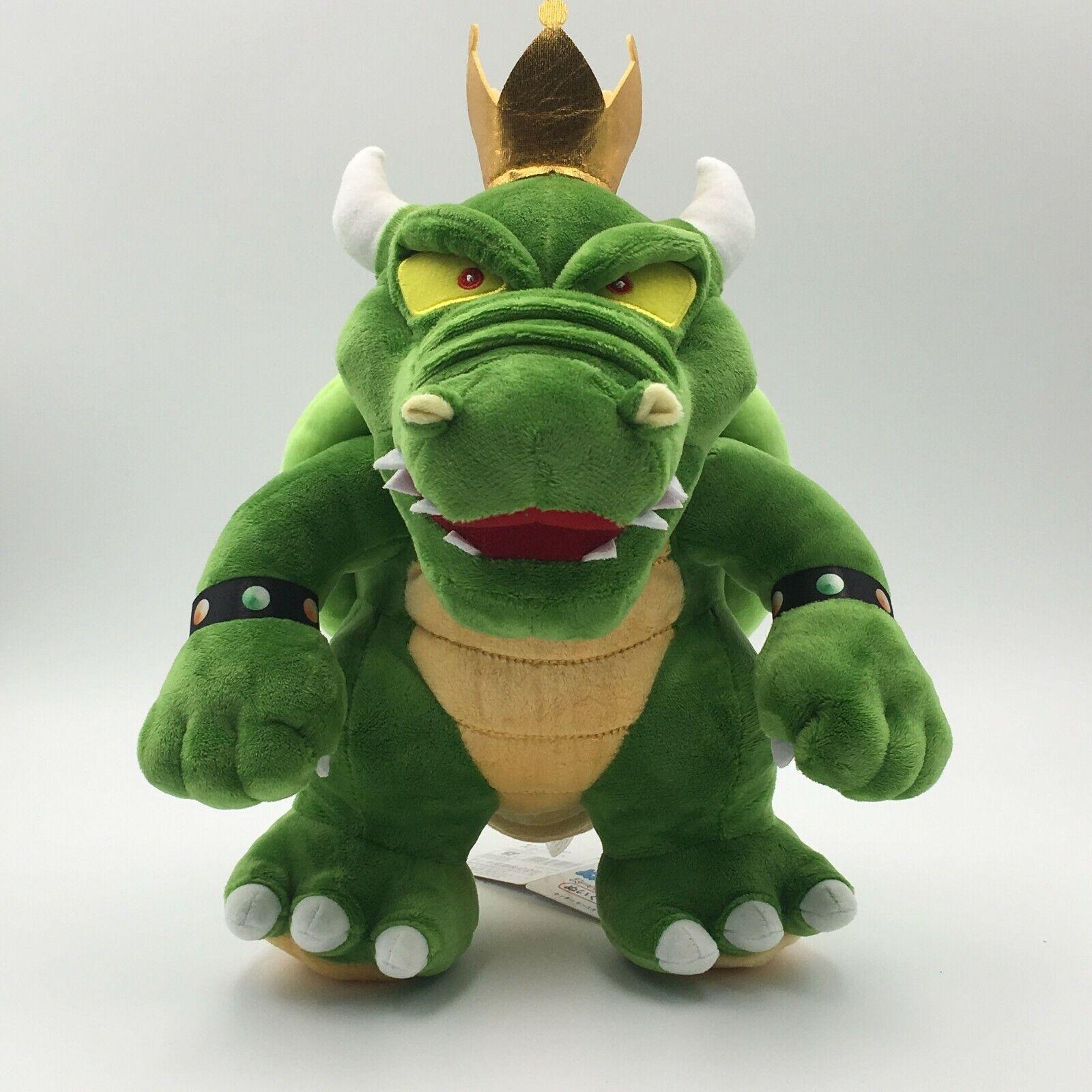 Super Mario King Koopa Bowser Plush Toy Stuffed Animals Doll