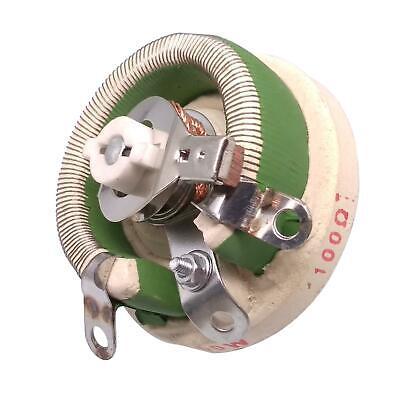 50w 100 Ohm High Power Wirewound Potentiometer Rheostat Variable Resistor
