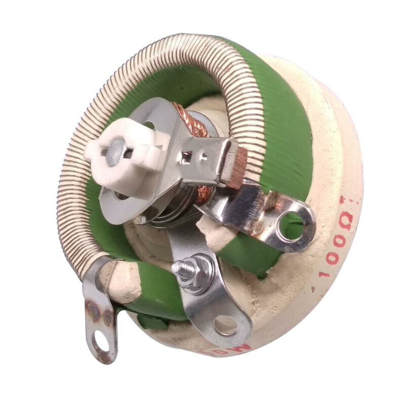 50W 100 OHM High Power Wirewound Potentiometer, Rheostat, Variable Resistor