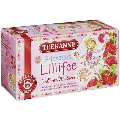 - Teekanne Princess Lillifee Strawberry-Raspberry- 20 tea bags- FREE US SHIPPING
