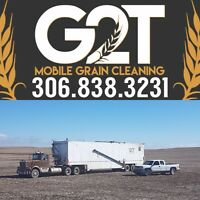Mobile Grain Cleaning