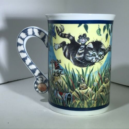 The Danbury Mint Comical Cats Coffee Cup