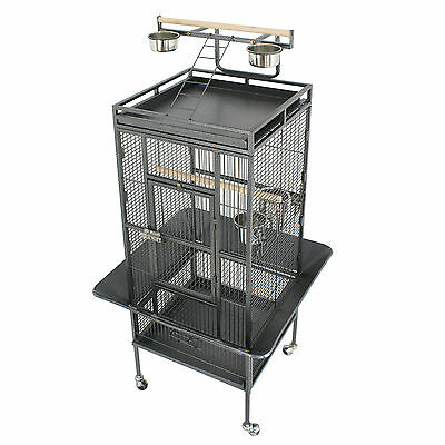 Large Bird Cage Play Top Bird Parrot Finch Cage Macaw Best Pet Bird Supply 61'' for sale  USA