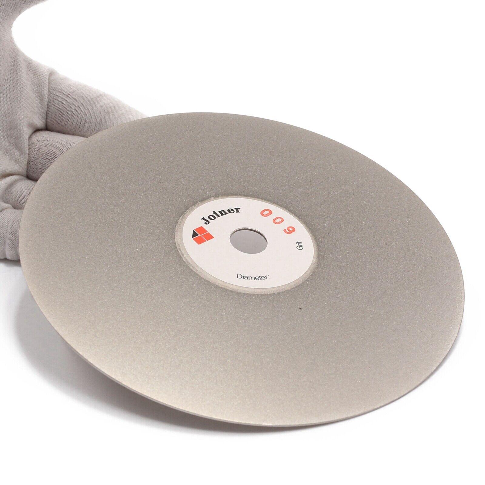 "как выглядит 6"" inch 150 mm Grit 600 Diamond Flat Lap Disk Grinding Disc Wheels Coated Stone фото"
