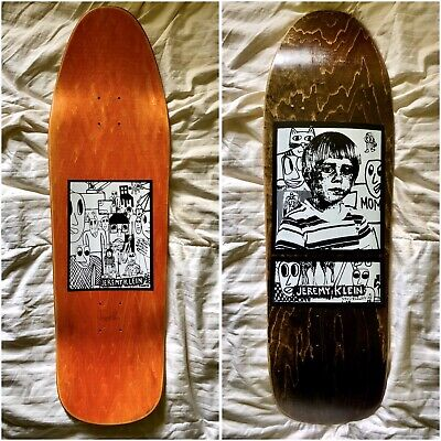 JK Industries Signed Jeremy Klein Portrait Skateboard Hook Ups