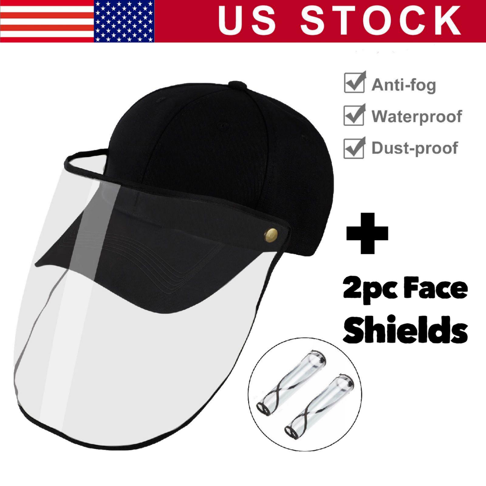 Anti Saliva Splash Proof Cap Full Face Shield Safety Protect