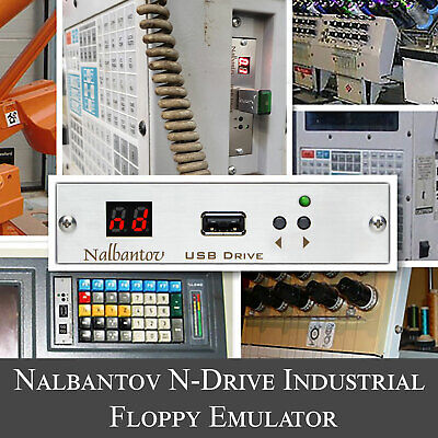 Nalbantov Usb Floppy Emulator N-drive Industrial For Happy Embroidery Machine