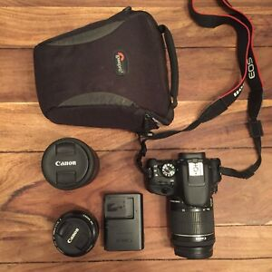 Canon Rebel SL1 - format compact + 3 objectifs
