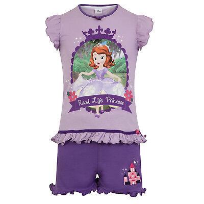 Disney Sofia die Erste - Mädchen Schlafanzug - kurz - Geschenk für Kleinkinder ()