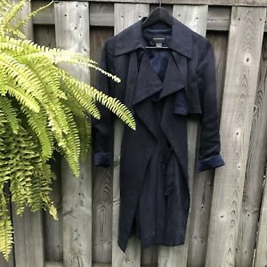 CLUB MONACO TRENCH - navy size S
