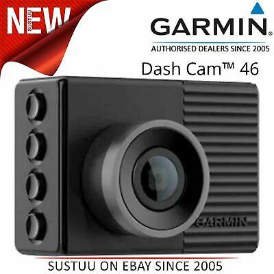 Garmin Dash Cam 46│1080p HD Camera│Voice Control│Driver Alerts│Bluetooth│Wi-Fi