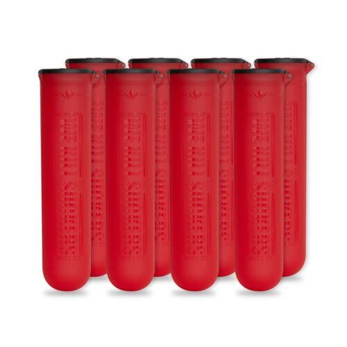 Bunkerkings ESC Paintball Pods - 8 Pack - Red