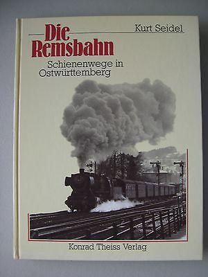 Remsbahn Schienenwege in Ostwürttemberg 1987 Eisenbahn