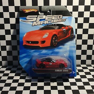 Hot Wheels SPEED MACHINES FERRARI 599XX