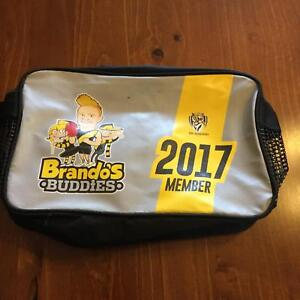 Collectable AFL Richmond 2017 kids members pack, socks, laces