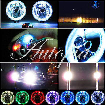 "6 Inch 6 "" Offroad 4X4 Truck & Suv Lighting Kit Brush Bar Lights w/ Halos U1"