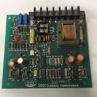 Pti Controls 50215 Signal Conditioner 50215
