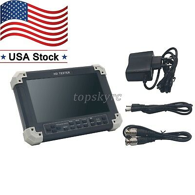 X42tac V5.5 7 Lcd Cvbstviahdvgahdmi Camera Video Test Tester Us Stock