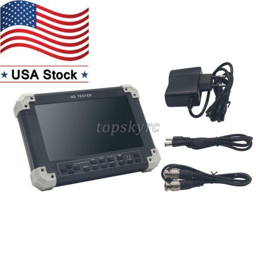"""X42TAC V5.5 7"""" LCD CVBS+TVI+AHD+VGA+HDMI Camera Video Test Tester US STOCK"""