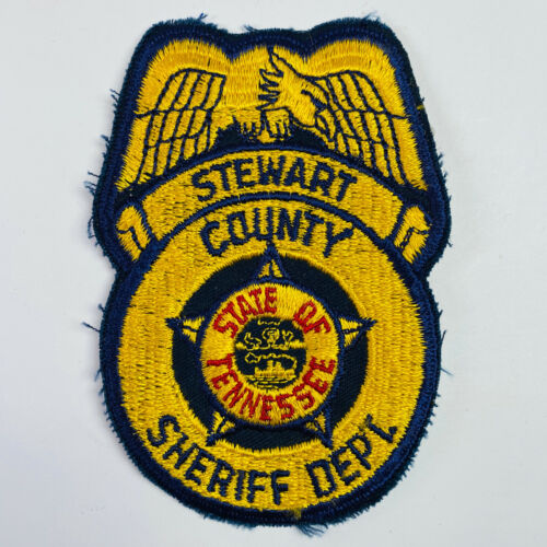 Stewart County Sheriff Department Tennessee TN Patch (A1)