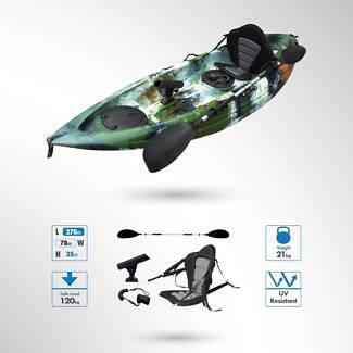 Kingfisher 2.7m Single Sit-On Fishing Kayak Package